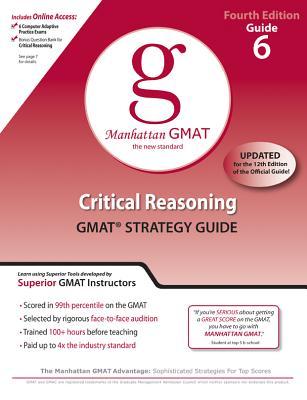 Critical Reasoning GMAT Preparation Guide - Manhattan GMAT