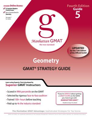 Geometry GMAT Preparation Guide - Manhattan GMAT