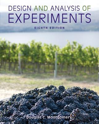 Design and Analysis of Experiments - Montgomery, Douglas C