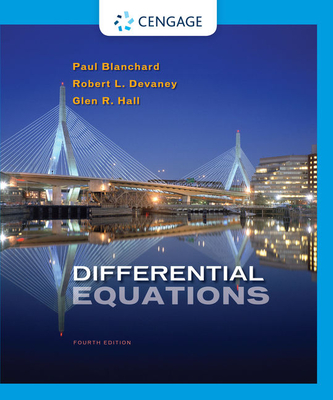 Differential Equations - Blanchard, Paul, and Devaney, Robert L, and Hall, Glen R