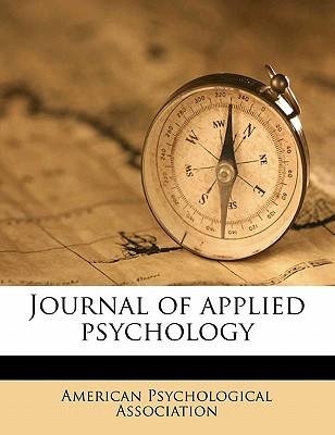 Journal of Applied Psychology - American Psychological Association (Creator)