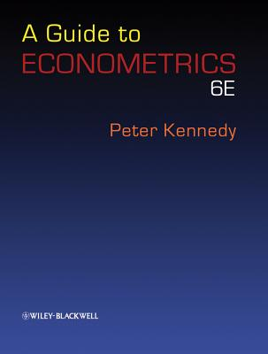 A Guide to Econometrics - Kennedy, Peter