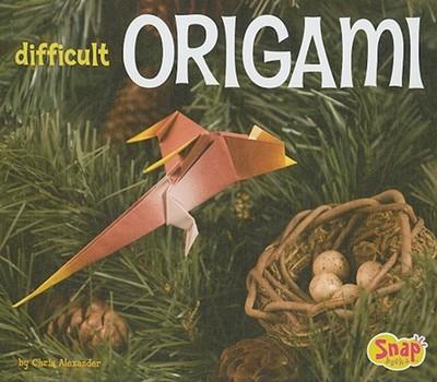 Difficult Origami - Alexander, Chris