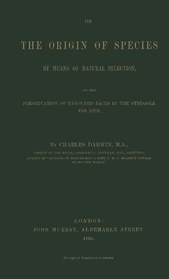 On the Origin of Species - Darwin, Charles