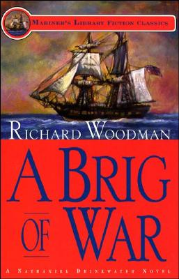 A Brig of War - Woodman, Richard