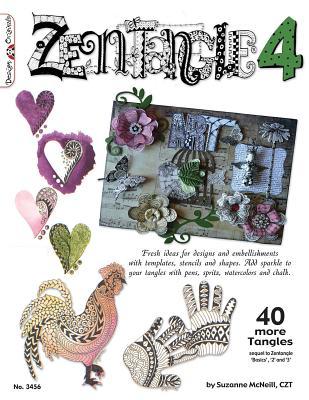Zentangle 4: 4 More Tangles - McNeill, Suzanne