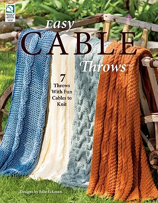 Easy Cable Throws - Eckman, Edie (Text by)
