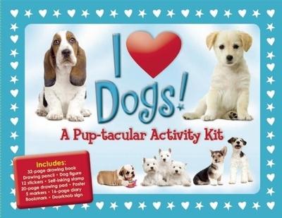 I Love Dogs!: A Pup-Tacular Activity Kit - Fisher, Diana