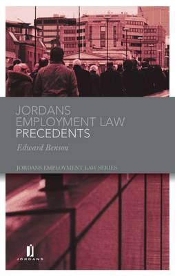 Jordans Employment Law Precedents - Benson, and Benson, Edward, and Randall, Nicholas