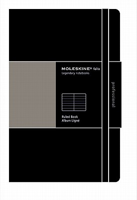 Moleskine Folio Ruled Book: Legendary Notebooks - Moleskine (Creator)