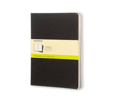Moleskine Cahiers Set of 3 Plain Journals - Moleskine Manufactured By