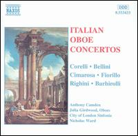 Italian Oboe Concertos - Anthony Camden (oboe); Julia Girdwood (oboe); City of London Sinfonia; Nicholas Ward (conductor)