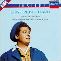 Italian Songs - Giuseppe di Stefano (tenor); New Symphony Orchestra of London