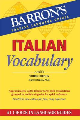Italian Vocabulary - Danesi, Marcel