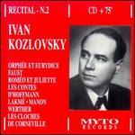 Ivan Kozlovsky - Recital No. 2 - Alexander Pirogov (vocals); Ivan Kozlovsky (vocals); USSR Symphony Orchestra