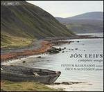 Jón Liefs: Complete Songs