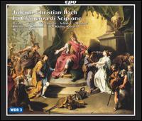 J.C. Bach: La Clemenza di Scipione - Christine Wolff (soprano); Hans-Jörg Mammel (tenor); Jorg Waschinski (soprano); Linda Perillo (soprano);...