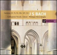 J.S. Bach: Cantatas 39, 73, 93, 105, 107, 131 - Agnès Mellon (soprano); Barbara Schlick (soprano); Charles Brett (alto); Gérard Lesne (alto); Howard Crook (tenor);...