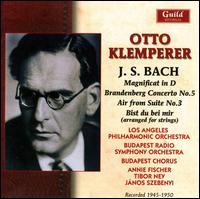 J.S. Bach: Magnificat in D; Brandenburg Concerto No. 5; Air from Suite No. 3; Bist du bei mir - Anna Bathy (soprano); Annie Fischer (piano); Georg Littasy (bass); János Szebenyi (flute); Judit Sándor (soprano);...