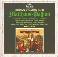 J.S. Bach: Matthäus-Passion [1980] - Dietrich Fischer-Dieskau (baritone); Edith Mathis (soprano); Janet Baker (contralto); Matti Salminen (bass);...