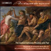 J.S. Bach: Secular Cantatas, Vol. 9 - The Contest Between Phoebus and Pan - Christian Immler (bass); Dominik Wörner (bass); Joanne Lunn (soprano); Katsuhiko Nakashima (tenor); Nicholas Phan (tenor);...
