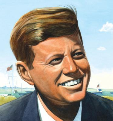 Jack's Path of Courage (a Big Words Book): The Life of John F. Kennedy - Rappaport, Doreen
