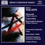 James Wilson: Menorah; Concertino; Pearl and Unicorn