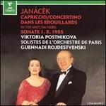 Janacek: Capriccio; Concertino; Dans les Brouillards