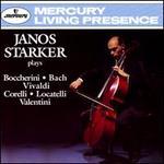 Janos Starker plays Boccherini, Bach, Vivaldi, Corelli, Locatelli & Valentini - György Sebök (piano); Janos Starker (cello); Stephen Swedish (piano)
