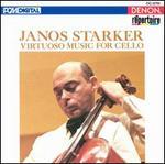 Janos Starker Virtuoso Music for Cello