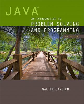 Java: An Introduction to Problem Solving and Programming - Savitch, Walter J.