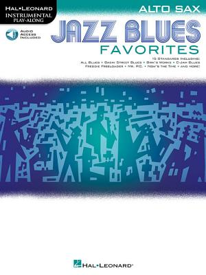 Jazz Blues Favorites: Alto Sax - Hal Leonard Corp (Creator)