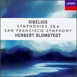 Jean Sibelius: Symphonies 3 & 6