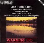Jean Sibelius: Symphony No. 4; Andante Festivo; Karelia-Overture