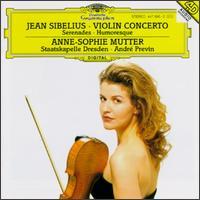 Jean Sibelius: Violinkonzert; Serenaden; Humoreske - Anne-Sophie Mutter (violin); Staatskapelle Dresden; André Previn (conductor)