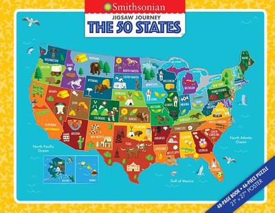Jigsaw Journey Smithsonian: The 50 States - Strother, Ruth