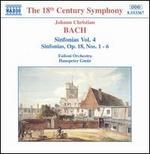 Johann Christian Bach: Sinfonias Vol. 4 - Sinfonias, Op. 18, Nos. 1-6