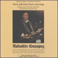 Johann Crüger: Wach auff mein Hertz und singe - David Cordier (counter tenor); Georg Zboron (posaunen); Gerhard Kastner (orgelpositiv); Hans-Peter Westermann (cornetto);...