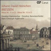 Johann David Heinichen: Messen - Andreas Scheibner (bass); Christine Wolff (soprano); Egbert Junghanns (bass); Hermann Oswald (tenor); Jochen Kupfer (bass);...