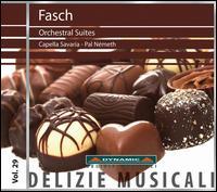 Johann Friedrich Fasch: Orchestral Suites - Capella Savaria; Pál Németh (conductor)