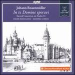 Johann Rosenmüller: In te Domine speravi