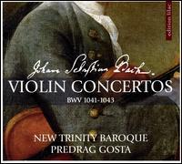 Johann Sebastian Bach: Violin Concertos BWV 1041-1043 - Adriane Post; Carrie Krause; New Trinity Baroque; Predrag Gosta (conductor)