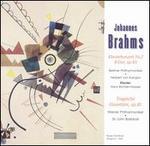 Johannes Brahms: Klavierkonzert No. 2; Tragische Ouvetüre