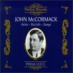 John McCormack-Aris, Recitals And Songs