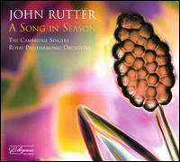 John Rutter: A Song in Season - Brian Thomson (trumpet); Gabriel Crouch (baritone); Grace Davidson (soprano); John Birch (organ); Leila Ward (cor anglais);...