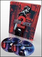 John Wick: Chapter 2 [Includes Digital Copy] [Only @ Best Buy] [SteelBook] [Blu-ray/DVD]