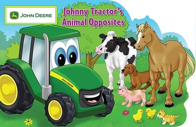 Johnny Tractor's Animal Opposites - Roth, Elana, and Wald, Christina (Illustrator)