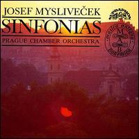 Josef Myslivecek: Sinfonias - Jiri Kaniak (oboe); Oldrich Vlcek (violin); Prague Chamber Orchestra