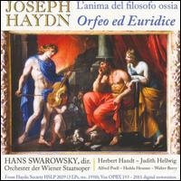 Joseph Haydn: L'Anima del Filosofo ossia Orfeo ed Euridice - Alfred Poell (vocals); Hedda Heusser (vocals); Herbert Handt (vocals); Judith Hellwig (vocals); Kurt Rapf (harpsichord);...