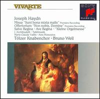 Joseph Haydn: Missa Sunt bona mixta malis; Offertorium Non nobis, Domine; Salve Regina; Ave Regina; Kleine Orgelmesse - Ab Koster (natural horn); Ann Monoyios (soprano); Anner Bylsma (cello); Anthony Woodrow (double bass);...